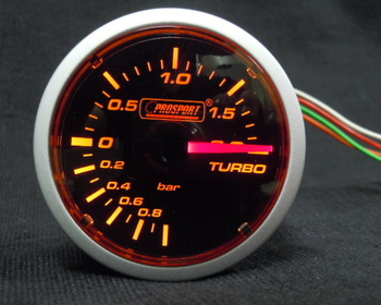 Pro Sport Performance - Brand new! 2 inch boost gauge (black face W / A)